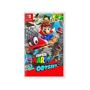 Jogo Super Mario Odyssey - |Usado| - Switch