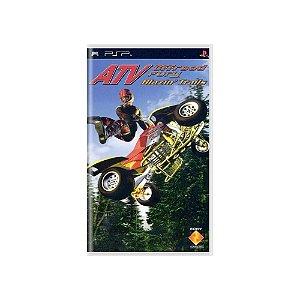 ATV Offroad Fury: Blazin' Trails (Sem Capa) - Usado - PSP