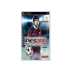 Pro Evolution Soccer 2010 (PES 10) - Usado - PSP