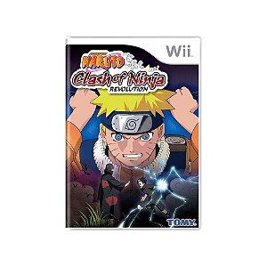 Naruto: Clash of Ninja Revolution - Usado - Wii