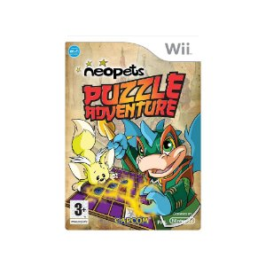 Neopets Puzzle Adventure - Usado - Wii