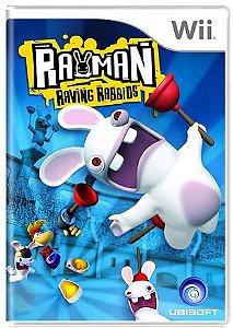 Rayman Raving Rabbids - |Usado| - Nintendo Wii