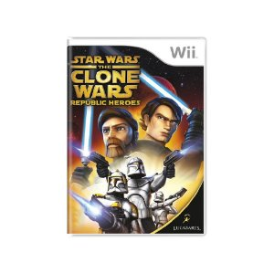 Star Wars The Clone Wars: Republic Heroes - Usado - Wii