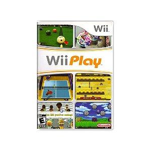 Wii Play - Usado - Wii