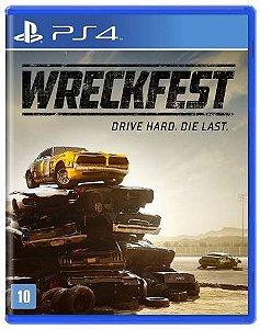 Wreckfest - |Pré Venda| - PS4