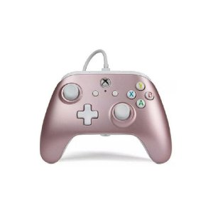 Controle PowerA Rose Gold com fio - Xbox One