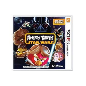 Jogo Angry Birds Star Wars - |Usado|- 3DS