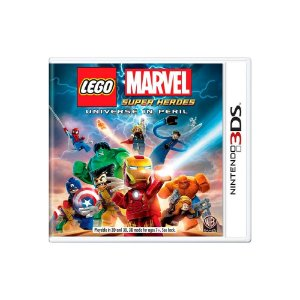Jogo LEGO Marvel Super Heroes: Universe In Peril - |Usado| - 3DS