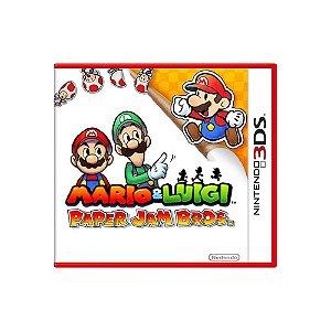 Mario & Luigi: Paper Jam - Usado -  3DS