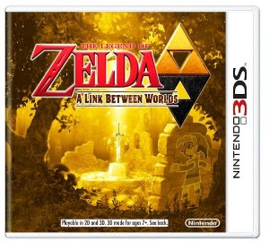 The Legend of Zelda: A Link Between Worlds - |Usado| - 3DS