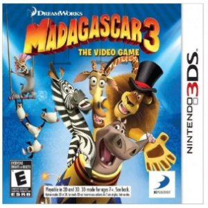 Madagascar 3 - The Video Game - |Usado| - 3DS