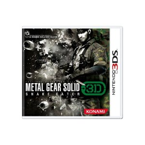 Metal Gear Solid: Snake Eater 3D - Usado- 3DS