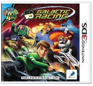 Ben 10: Galactic Racing - |Usado|- 3ds