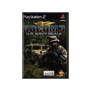 SOCOM 3: U.S. Navy SEALs - Usado -  PS2