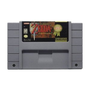 The Legend of Zelda: A Link to the Past - Usado - SNES