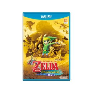 Jogo The Legend of Zelda: The Wind Waker HD - Wii U