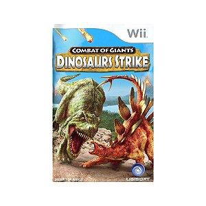 Battle of Giants: Dinosaurs Strike - Usado - Wii