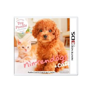 Nintendogs + Cats Toy Poodle (Sem Capa) - Usado - 3DS
