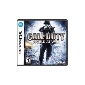 Call of Duty World at War - Usado - Ds