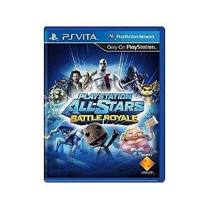 Playstation All-Stars Battle Royale - Usado - Ps Vita