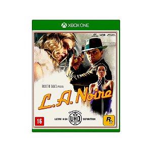 L.A. Noire - Usado - Xbox One