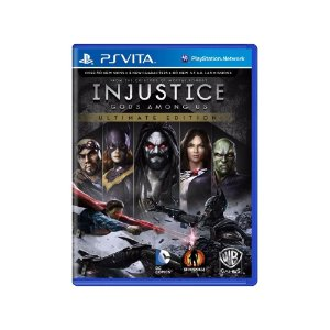 Injustice Gods Among Us (Ultimate Edition) - Usado - Ps Vita