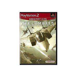 Ace Combat 5: The Unsung War - Usado - PS2