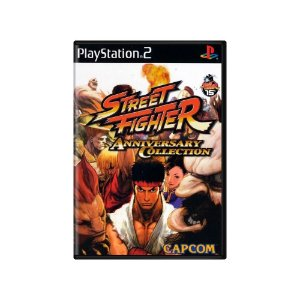 Street fighter (Anniversary collection)  - Usado - Ps2