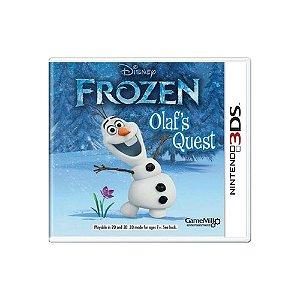 Jogo Frozen Olaf's Quest - |Usado| - 3Ds