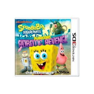 Spongebob Squarepants: Plankton's Robotic Revenge - 3Ds