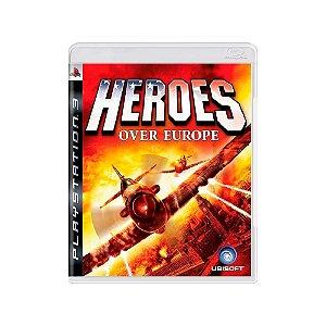 Jogo Heroes Over Europe  - |Usado| - PS3