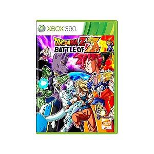 Dragon Ball Battle of Z - Usado - Xbox 360