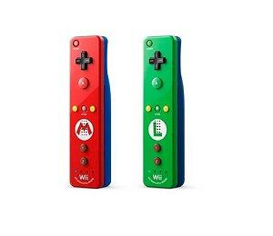 Controle Remote Plus - Edição Especial Mario e Luigi - |Usado| - Wii