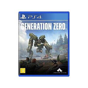 Generation Zero - Usado - PS4
