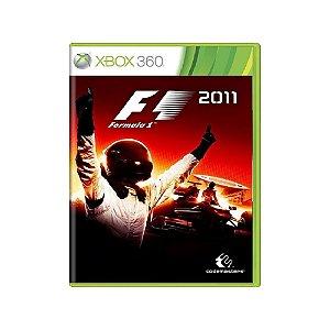 Formula 1 2011 - Usado - Xbox 360