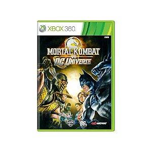 Mortal Kombat Vs. DC Universe - Usado - Xbox 360