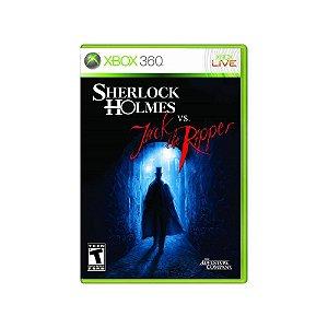 Sherlock Holmes vs. Jack the Ripper - Usado - Xbox 360