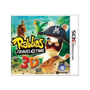 Rabbids Travel in Time 3D - Usado - 3DS