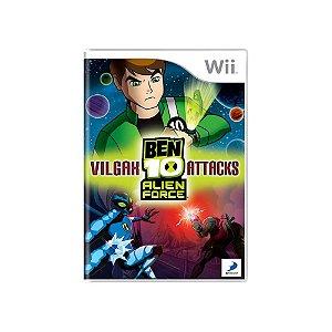 Ben 10 Alien Force Vilgax Attacks - Usado - Wii