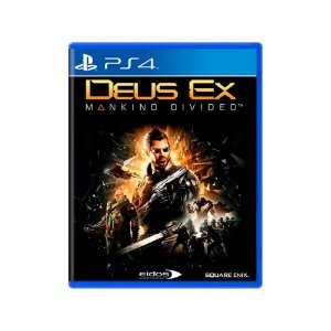 Deus Ex Mankind Divided - Usado -  PS4