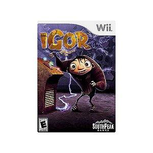 Igor The Game - Usado - Wii