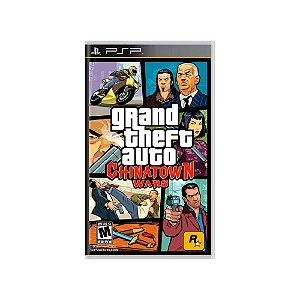 Grand Theft Auto Chinatown Wars (GTA) (Sem Capa) Usado PSP