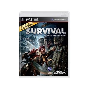 Cabela's Survival Shadows of Katmai - Usado - PS3