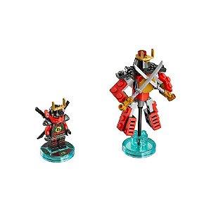 Lego Dimensions Ninjago Nya Fun Pack - Usado