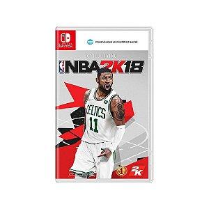 NBA 2K18 - Usado - Switch