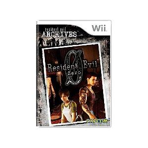 Resident Evil Archives: Resident Evil 0 - Usado - Wii