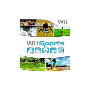 Wii Sports (Capa dura) - Usado - Wii