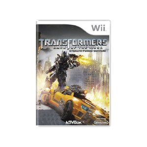 Transformers Dark of the Moon Stealth Force Ed - Usado - Wii