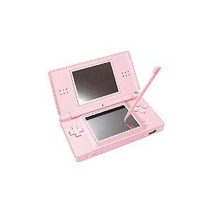 Console Nintendo DS Lite Rosa - Usado - Nintendo