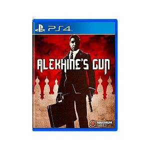 Alekhine's Gun - Usado - PS4